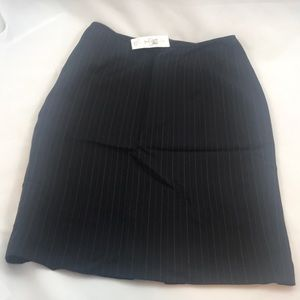 NWT Anne Taylor pinstriped skirt